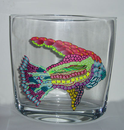 Fish Vase Art League