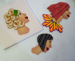 Polymer Clay Face Canes Profile