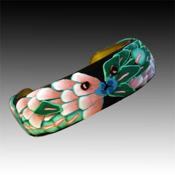 Polymer Clay Fish Bracelet