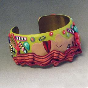 Redheaded Cuff Bracelet