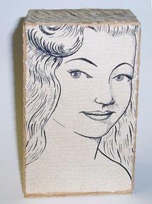 E. Lamar Simpson. 1950 prototype Hair coloring box