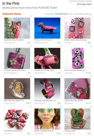 Etsy Treasury by Alison E Kurek