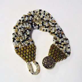 Brown Bag Swap - Bracelet by Pat Ghadbane