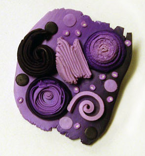 Purple Pin - alice Stroppel