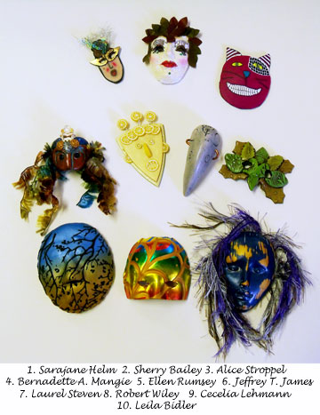 Sarajane Helm's 2011 Mini Mask exchange 1