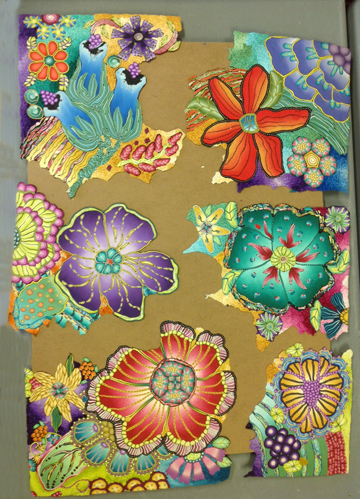 Polymer Clay Wall Art -Alice Stroppel