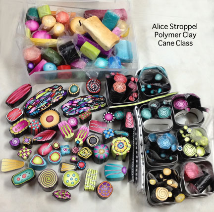 Alice Stroppel cane workshop
