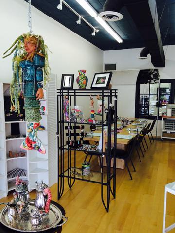 Classroom at Studio 215
