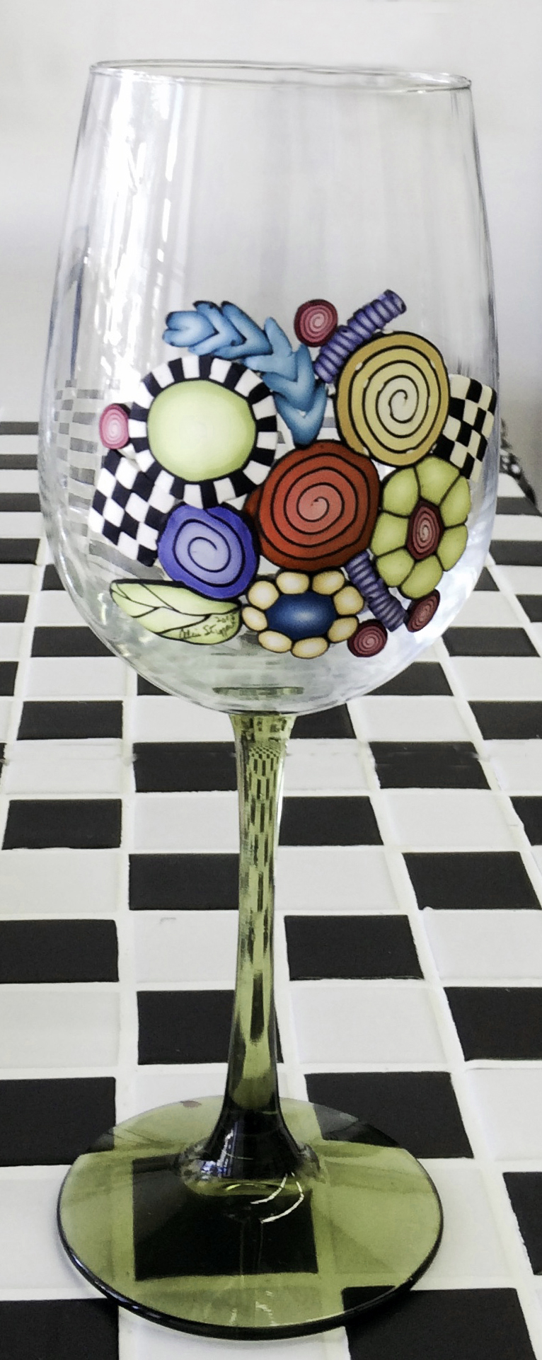 Alice Stroppel wine glass