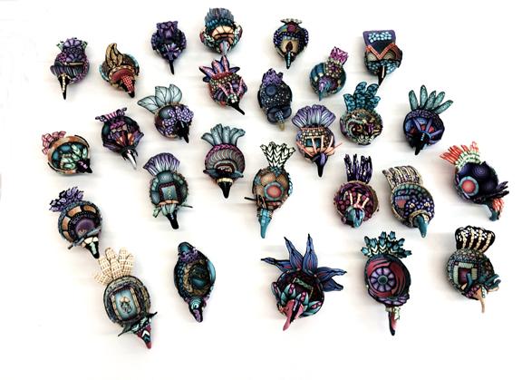 Alice Stroppel's bird bowls