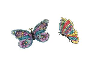 butterflies - Alice Stroppel - Cane mapped